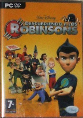 PC: Descubriendo A los Robinsons. Nuevo. Precintado