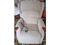 HSL Fully Recliner Chair - Newly New - only used for 6 weeks then Mother passed away.