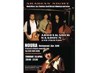 Arabian, Flamenco and Jazz Night