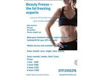 Beauty Freeze part of Evofreeze the Fat Freezing Experts