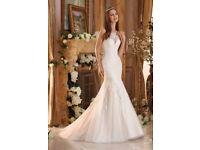 BRAND NEW NEVER WORN SIZE 6 MORI LEE WEDDING DRESS