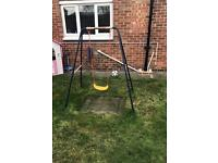 Children's garden swing