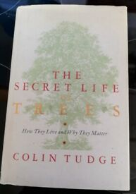 The Secret Life of Trees - hardback by Colin Tudge