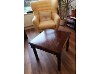 Coffee / Occasional table -solid wood, free to view
