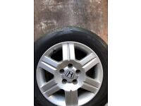 """16"""" Alloys and tyres"""