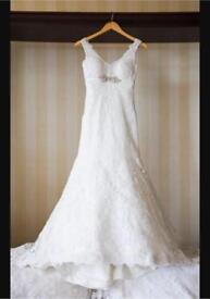 Allure wedding dress size 10