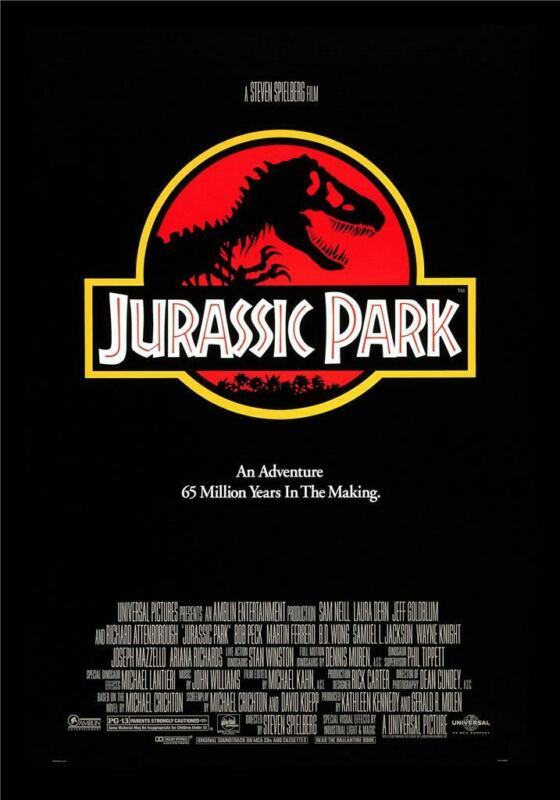 Jurassic Park Movie Poster Print Art Photo 8x10 11x17 16x20 22x28 24x36 27x40