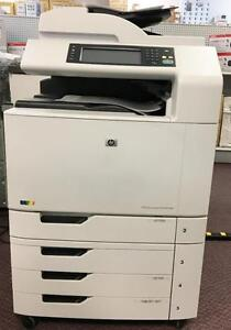 HP Color LaserJet CM6040 MFP Printer Copier Scanner - Buy or Lease Hp Printers Scanners Copiers