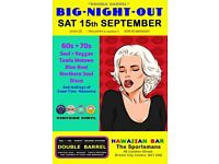 SATURDAY 16th SEPTEMBER - 60s 70s SOUL / REGGAE / MOTOWN / DISCO - DOUBLE BARREL – CITY CENTRE