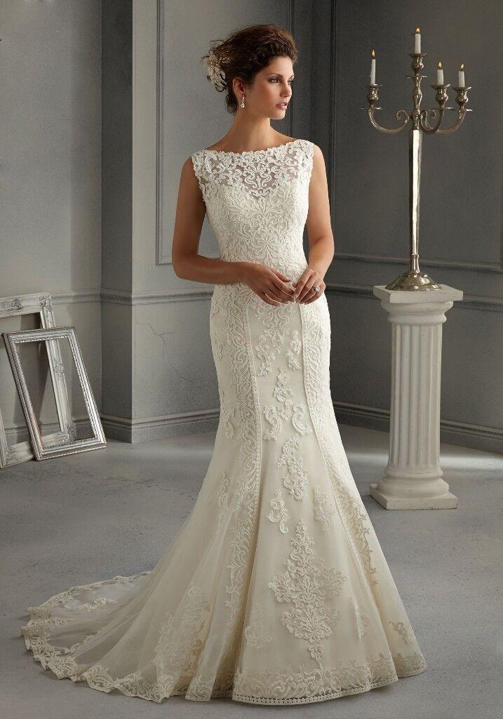 Madeline Gardner Wedding Dress, Mori Lee 5262, size 10 | in Eccles ...