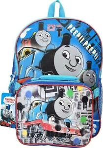 Thomas The Train 16 inch Backpack With Lunch Bag