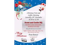 Christmas Fair & Coffee Morning - Grenoside Scout and Guide Group - 19/11/16