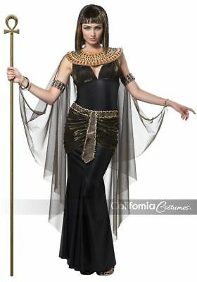Women's Halloween Queen of Egypt CLEOPATRA Egyptian Goddess Adult Costume (Goddess Costume For Women)