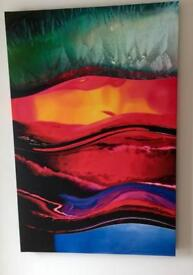 Canvas 100cm x 66cm various £20 each