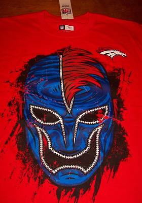 DENVER BRONCOS NFL FOOTBALL FANATIC FAN WRESTLER T-Shirt MEDIUM NEW w/ TAG Nfl Fanatic Fan Shirt