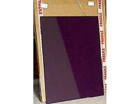 New Purple Glass Splashback