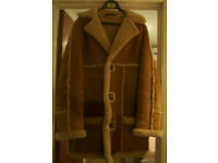 Mens Original 1970's Del Boy Sheepskin Coat