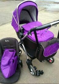 Silvercross pram/ buggy/ pushchair