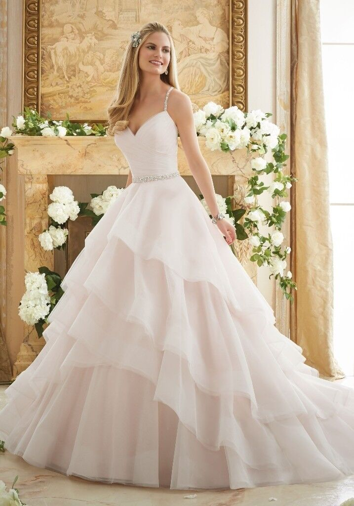 Reduction Morilee Wedding Dress Style 2873 In Ivory Size