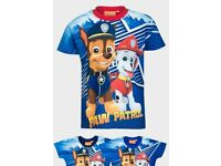 Paw Patrol Kids T-shirts Brand new