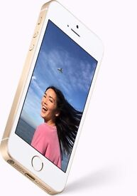 APPLE iPHONE SE 16GB GOLD, BRAND NEW, SEALED IN ITS BOX, FULL APPLE WARRANTY