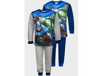 Avengers Boys Character Printed Pyjama