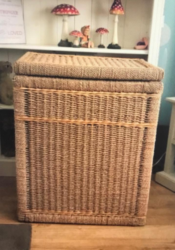Sea Grass Large Storage Basket
