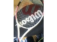 Wilson Tennis Racket Only Used Once