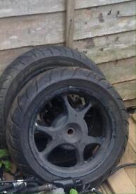Honda ps wheels