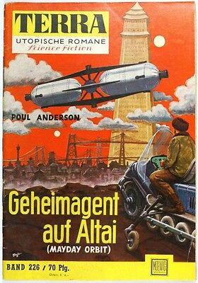 Terra utopische Romane Band 226 in Z1-2