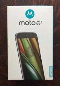 Motorola Moto E 3rd generation Sim free Phone **Brand new sealed box *