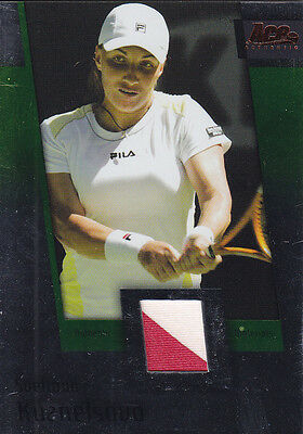 2007 Ace Authentic Svetlana Kuznetsova Jersey   Shirt Material Tennis  Jc10