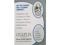 Chaplin cleaning
