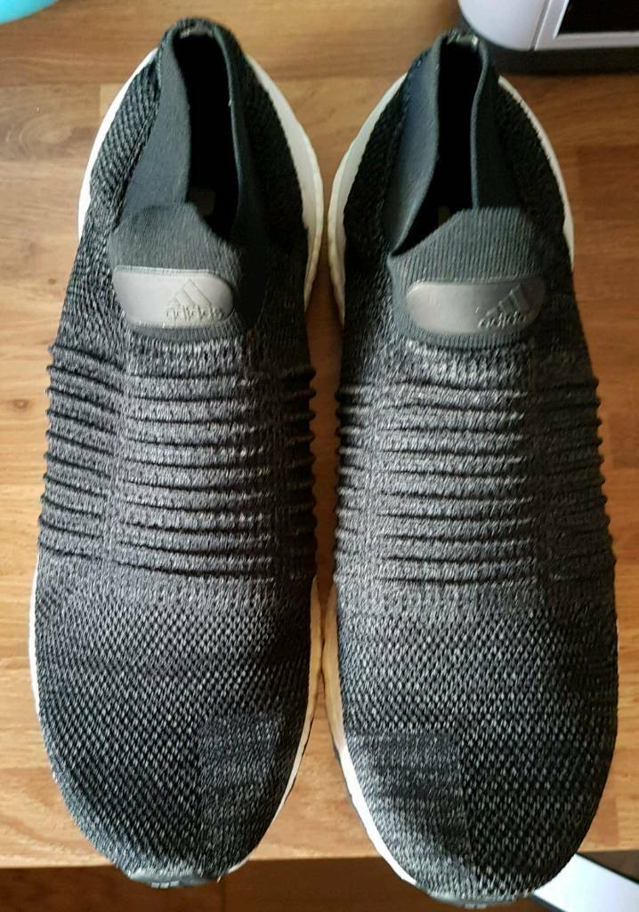 Men S Adidas Ultra Boost Laceless Trainers Size 10 In