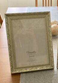 Gold A4 Frames and Glass Vases