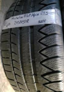 1 winter tire Michelin pilot alpin pa3  245/45r18