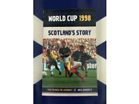 NEW Book. World Cup 1998: Scotland's Story ⚽️🏴
