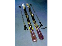 Unisex Salomon Crossmax Ski's And Poles
