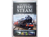 Railway Steam book & DVD box set's plus railway Steam books and calender