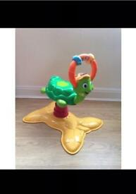 Turtle bounce toy (vtech)