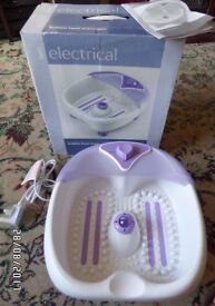 Bubble Foot Spa. Different bubble & foot Massage settings. Used but in excellent working order