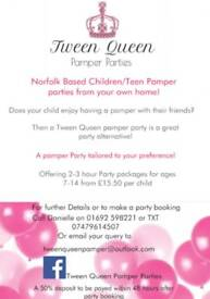 Childrens pamper parties