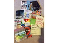 Job Lot of Art Books, Brand New Sketch Pad Etc.