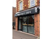Stylish, Fully Equiped Cafe business for Sale. Newly Refurbished to a high standard.