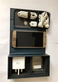 Samsung Galaxy S7 GOLD, Boxed, all networks