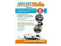 24/7 Car Recovery Breakdown Transport service