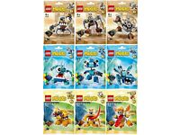 Lego Mixels Series 5 Complete Set Brand New Sealed Packets Retired Products