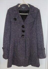 Smart Ladies Coat Size 14