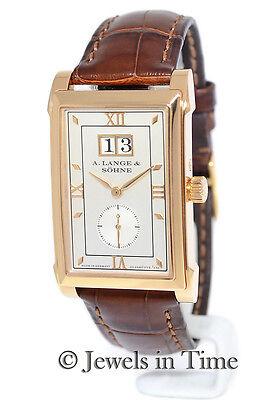 A. Lange & Sohne Cabaret 18K Rose Gold Mens Watch Box/Papers 107.032