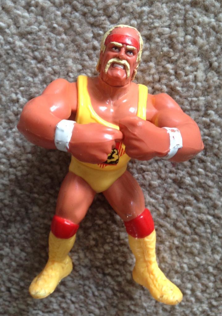 Hulk Hogan 90's WWF Wrestling Figure